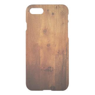 Coque iPhone 7 Motif en bois de regard de fibre de bois en bois