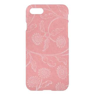 Coque iPhone 7 Motif floral rose élégant