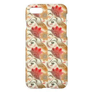Coque iPhone 7 Motif floral rouge élégant
