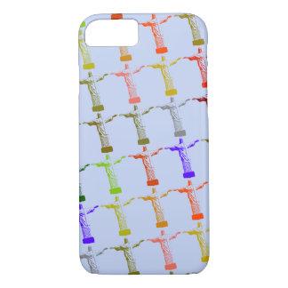 Coque iPhone 7 motif multicolore du Christ