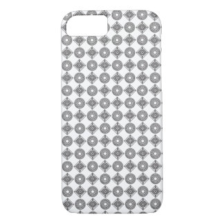 Coque iPhone 7 Motif noir et blanc d'Ajrak - cas de l'iPhone 7