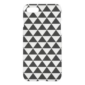 Coque iPhone 7 Motif noir et blanc de triangle