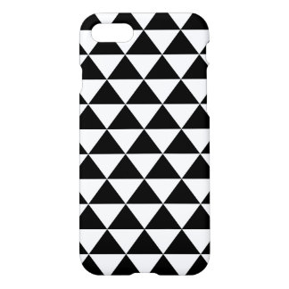 Coque iPhone 7 Motif noir et blanc de triangle