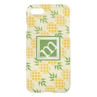 Coque iPhone 7 Motif pêché par ananas, arrière - plan variable