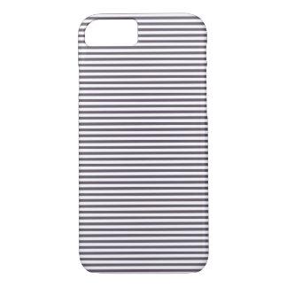 Coque iPhone 7 Motif rayé gris élégant