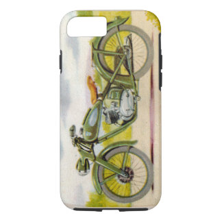 Coque iPhone 7 Moto vintage