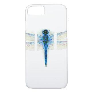 Coque iPhone 7 Mouche bleue de dragon