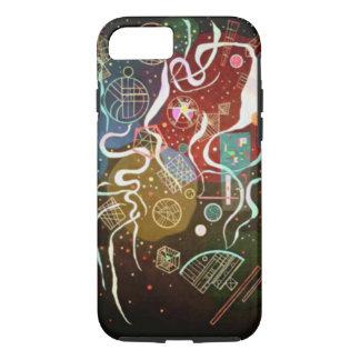 Coque iPhone 7 Mouvement de Kandinsky je soustrais la peinture