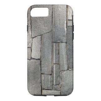 Coque iPhone 7 Mur en pierre aciéreux