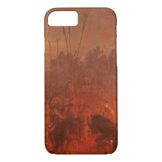 Coque iPhone 7 Natifs américains vintages, danse de Buffalo par