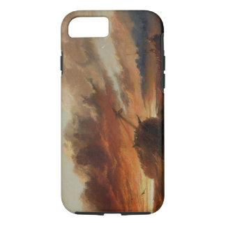 Coque iPhone 7 Naufrage, c.1850 (huile sur la toile)