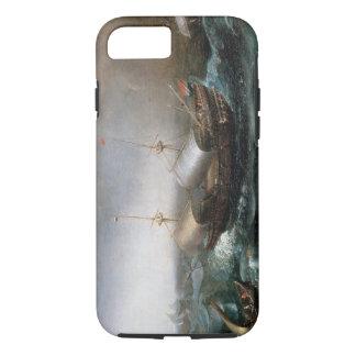 Coque iPhone 7 Navires marchands néerlandais et un Smalschip