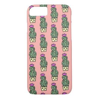 Coque iPhone 7 Ne me touchez pas cas de l'iPhone 7 de cactus