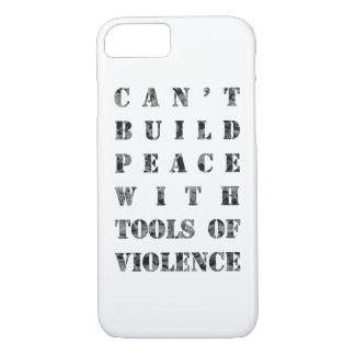 Coque iPhone 7 Ne peut pas établir la paix avec des outils de la