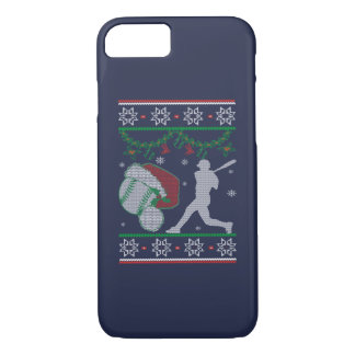 Coque iPhone 7 Noël du base-ball