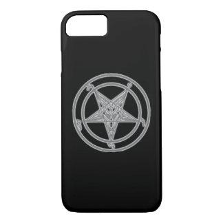 Coque iPhone 7 Noir d'ombre de Baphomet