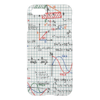 Coque iPhone 7 Nombres de formules de maths