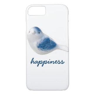 Coque iPhone 7 Oiseau bleu de bonheur
