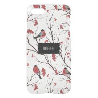 Coque iPhone 7 Oiseaux et baies d'hiver
