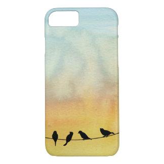 Coque iPhone 7 Oiseaux sur un fil