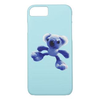 Coque iPhone 7 Ours de koala de bleus layette