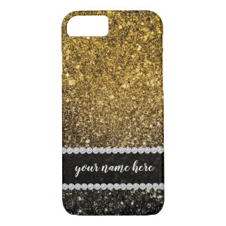 Coque iPhone 7 Parties scintillantes d'Ombre miroitant