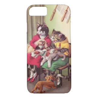 Coque iPhone 7 PASSERELLES : Bouledogue au cas de l'iPhone 7 de