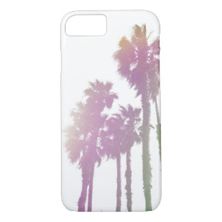 COQUE iPhone 7 PAUMES D'ARC-EN-CIEL