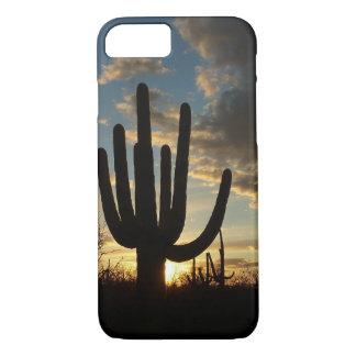 Coque iPhone 7 Paysage de désert du coucher du soleil II Arizona