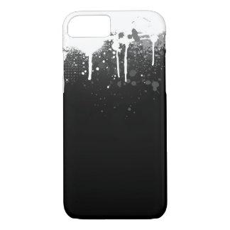 Coque iPhone 7 Peignez le cas d'égouttement