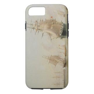 Coque iPhone 7 Peinture de bateau (huile sur la toile)
