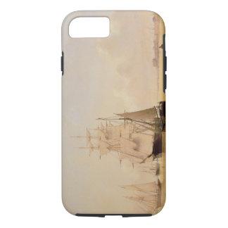 Coque iPhone 7 Peinture de bateau (huile sur la toile) 2