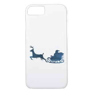 Coque iPhone 7 Père Noël et un renne