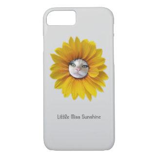 Coque iPhone 7 Petite Mlle Sunshine Smiling Cat