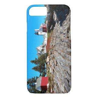 Coque iPhone 7 Phare de point de Pemaquid, Maine