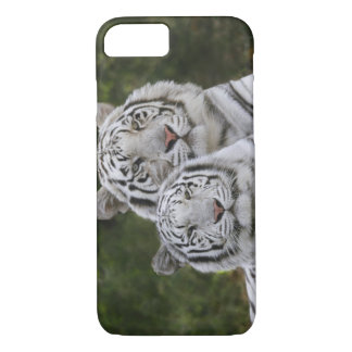 Coque iPhone 7 Phase blanche, tigre de Bengale, Tigre