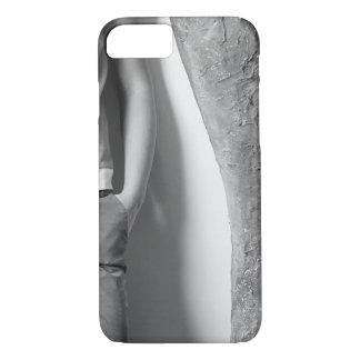 Coque iPhone 7 photo de cas de l'iPhone 7 noire et blanc à peine