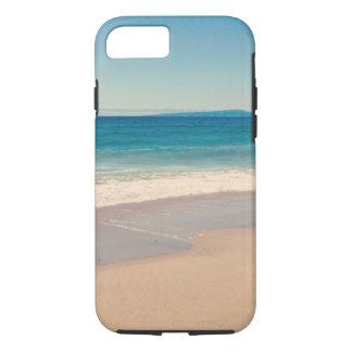 Coque iPhone 7 Photo de scène de plage d'Aqua