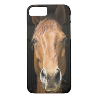 Coque iPhone 7 Photographie de visage de cheval