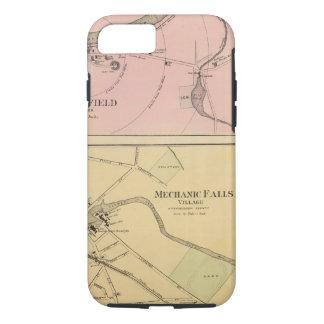 Coque iPhone 7 Pi Fairfield, île de Presque, carte de caribou