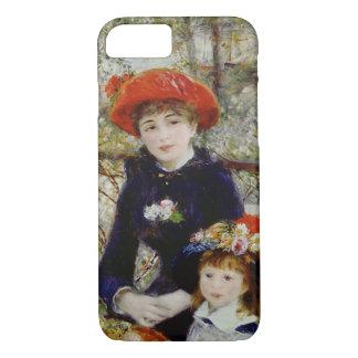 Coque iPhone 7 Pierre un Renoir | deux soeurs, ou sur la terrasse