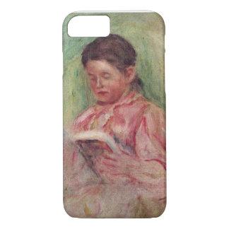 Coque iPhone 7 Pierre une lecture de femme de Renoir |