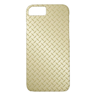 Coque iPhone 7 Plat d'or de diamant