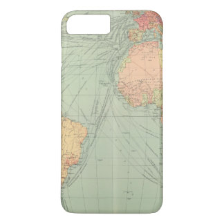 Coque iPhone 7 Plus 45 voies de communication, l'Océan Atlantique