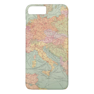 Coque iPhone 7 Plus 910 voies de communication, Europe centrale