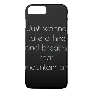 Coque iPhone 7 Plus Air de montagne