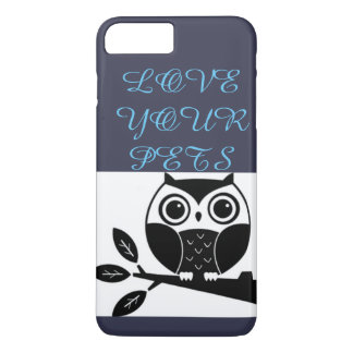 Coque iPhone 7 Plus animaux familiers d'amour