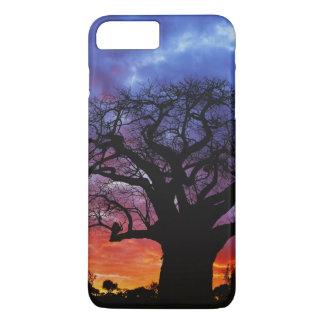 Coque iPhone 7 Plus Arbre africain de baobab, digitata d'Adansonia, 2