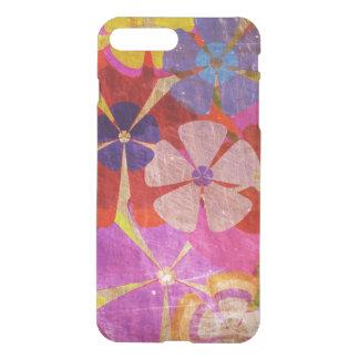 Coque iPhone 7 Plus bel art coloré de vecteur de fleurs