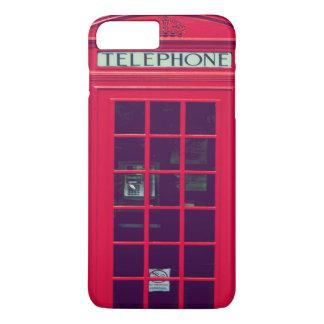 Coque iPhone 7 Plus Boîte rouge britannique originale de téléphone